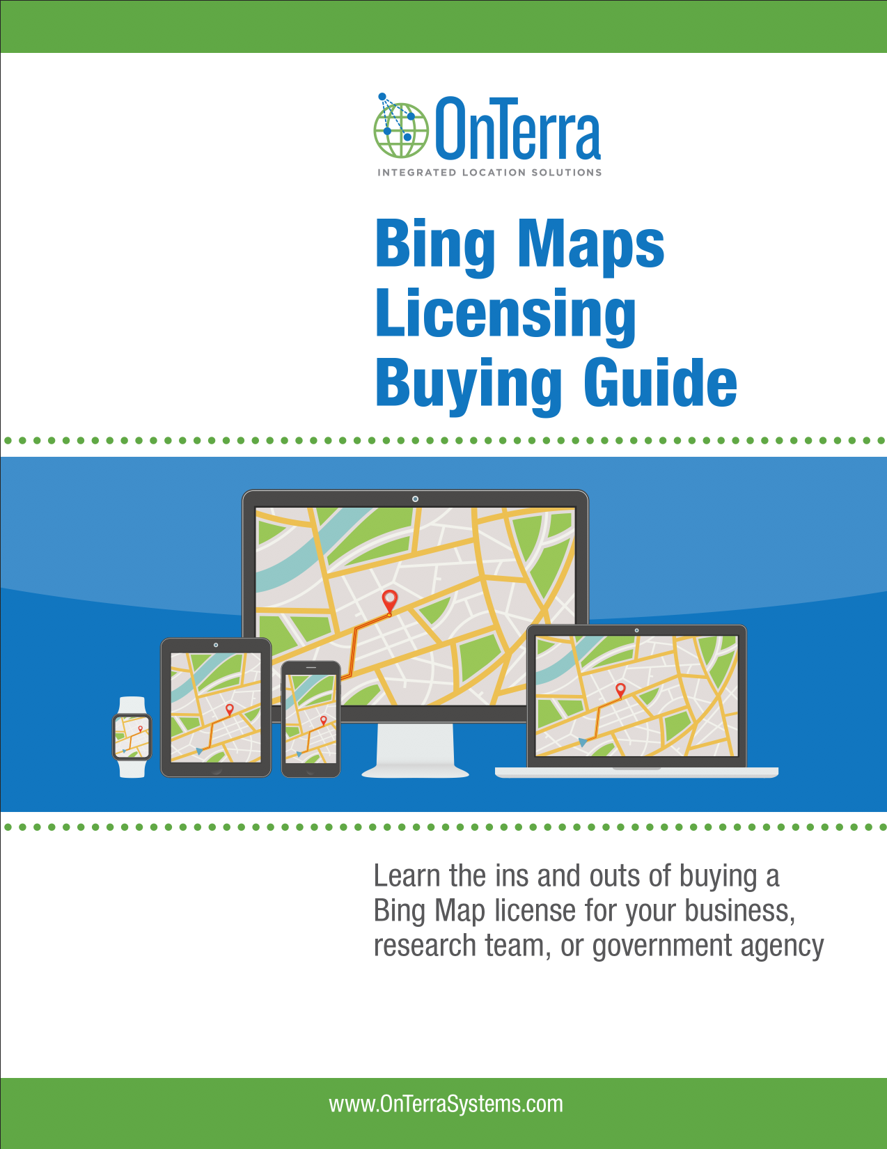 Bing Maps Licensing Buying Guide | OnTerra Systems USA